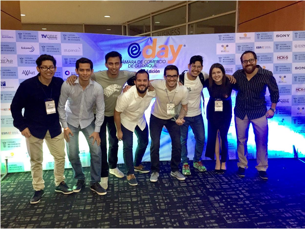 Nuestro equipo en el EDay 2016